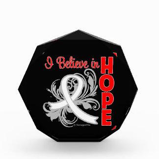 Cáncer de pulmón que creo en esperanza