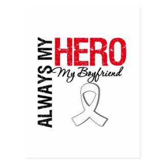 Cáncer de pulmón - siempre mi héroe mi novio postales