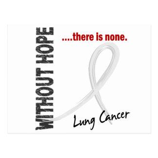 Cáncer de pulmón sin la esperanza 1 postales