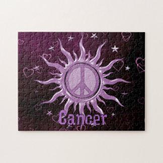 Cáncer de Sun de la paz Rompecabezas Con Fotos