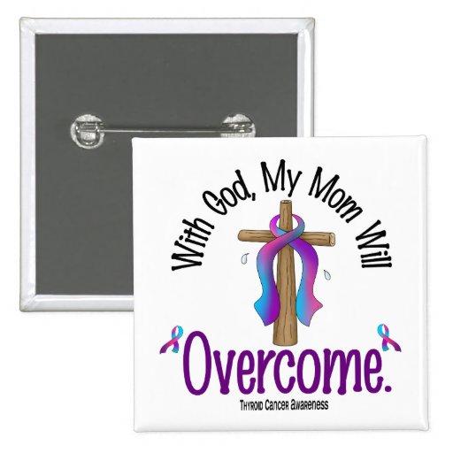 Cáncer de tiroides con dios que mi mamá superará pin