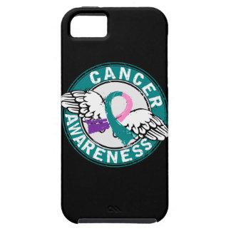 Cáncer de tiroides de la conciencia 14 funda para iPhone SE/5/5s