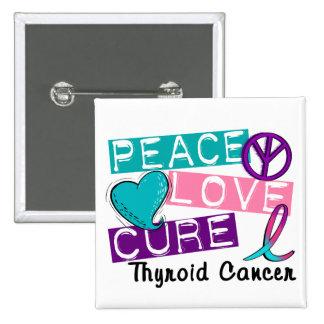 Cáncer de tiroides de la curación del amor de la p pin