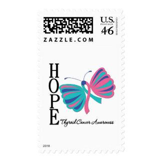 Cáncer de tiroides de la mariposa de la esperanza