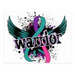 Cáncer de tiroides del guerrero 16 postal