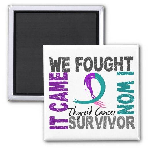 Cáncer de tiroides del superviviente 5 iman
