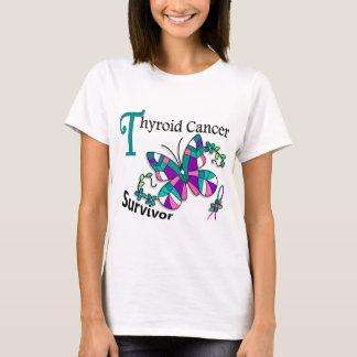 Cáncer de tiroides del superviviente 6 playera
