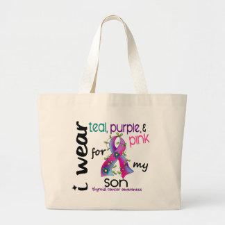 Cáncer de tiroides llevo la cinta para mi hijo 43 bolsa