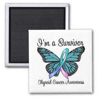 Cáncer de tiroides soy un superviviente imán cuadrado