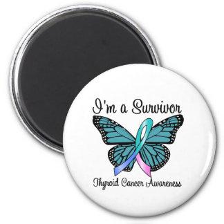 Cáncer de tiroides soy un superviviente imán redondo 5 cm