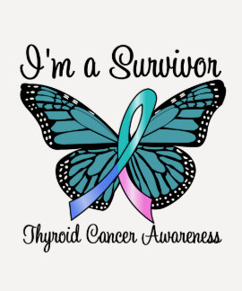 Cáncer de tiroides soy un superviviente camiseta