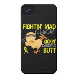 Cáncer de vejiga del polluelo de Fightin Case-Mate iPhone 4 Carcasas