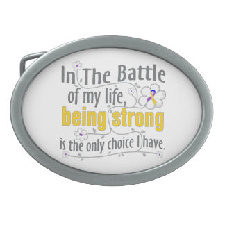 Cáncer de vejiga en la batalla hebillas cinturon ovales