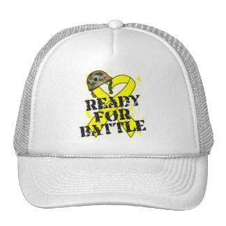 Cáncer de vejiga listo para la batalla gorra