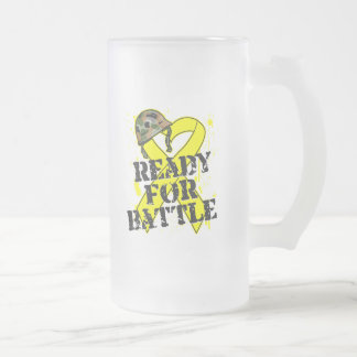 Cáncer de vejiga listo para la batalla taza de café
