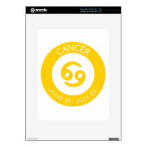 Cancer Decal For iPad