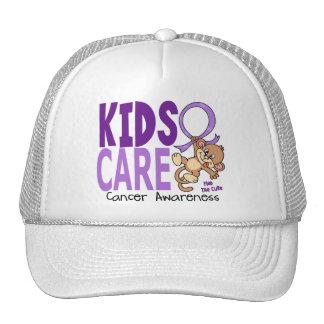 Cáncer del cuidado 1 de los niños gorra