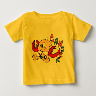 Cáncer del dibujo animado camisas