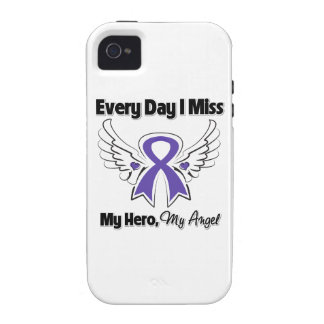 Cáncer del ESENCIAL cada Srta My Hero del día I iPhone 4 Funda