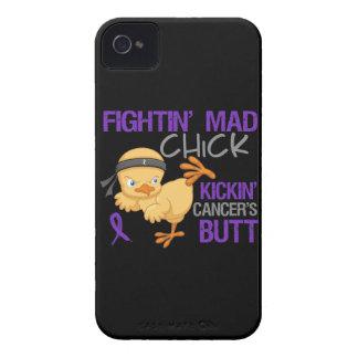 Cáncer del ESENCIAL del polluelo de Fightin Case-Mate iPhone 4 Protector