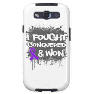 Cáncer del ESENCIAL que luché conquistado ganado Samsung Galaxy S3 Protector