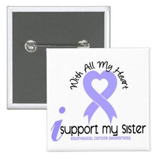 Cáncer del esófago apoyo a mi hermana pin