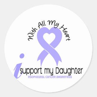 Cáncer del esófago apoyo a mi hija etiqueta