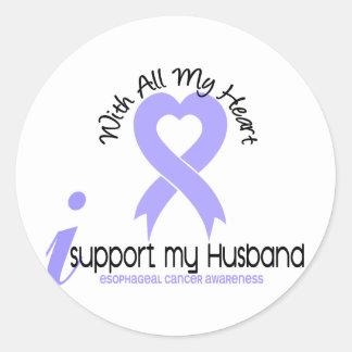 Cáncer del esófago apoyo a mi marido etiqueta