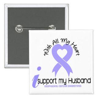 Cáncer del esófago apoyo a mi marido pin