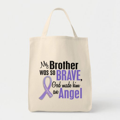 Cáncer del esófago de Brother del ángel 1 Bolsa De Mano