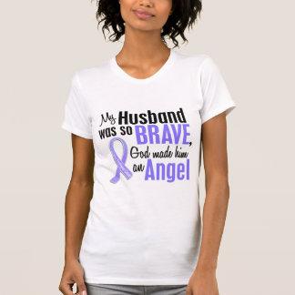 Cáncer del esófago del marido del ángel 1 tee shirt