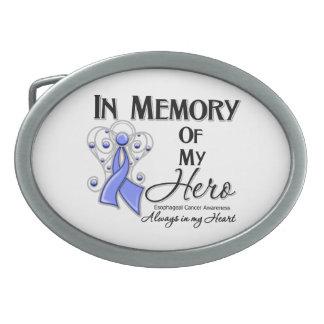 Cáncer del esófago en memoria de mi héroe hebilla cinturon