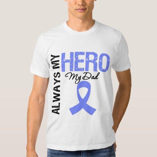 Cáncer del esófago siempre mi héroe mi papá camisas