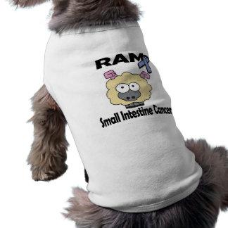 Cáncer del intestino delgado de RAM Playera Sin Mangas Para Perro