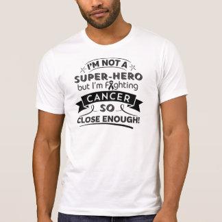 Cáncer del melanoma no un super héroe remera