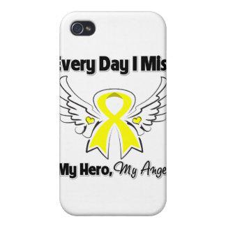 Cáncer del osteosarcoma cada Srta My Hero del día iPhone 4 Coberturas