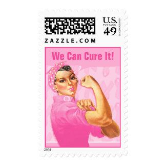 Cáncer del personalizado del remachador de Rosie Timbre Postal