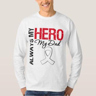 Cáncer del pulmón y de hueso - siempre mi héroe mi camisas