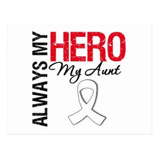 Cáncer del pulmón y de hueso - siempre mi héroe mi postales