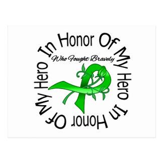 Cáncer del riñón en honor de mi héroe postal