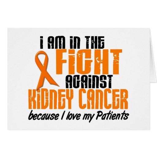 CÁNCER del RIÑÓN en la lucha para mis pacientes 1 Tarjeton