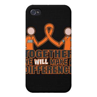 Cáncer del riñón juntos diferenciaremos 2 iPhone 4 funda