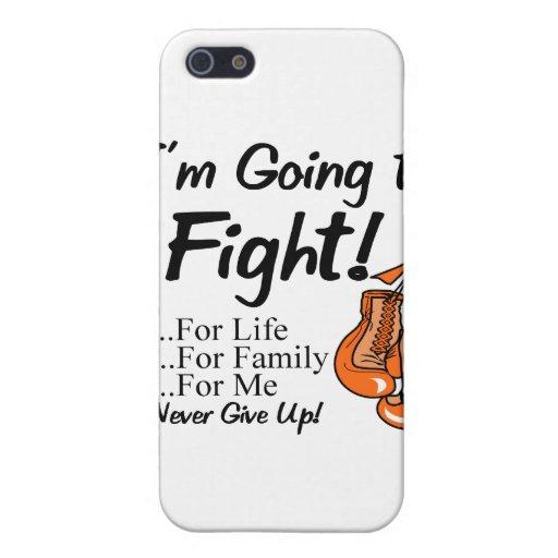 Cáncer del riñón voy a luchar iPhone 5 funda