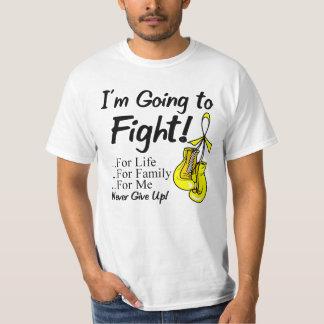 Cáncer del sarcoma voy a luchar playera