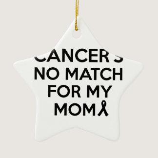 cancer design ceramic ornament