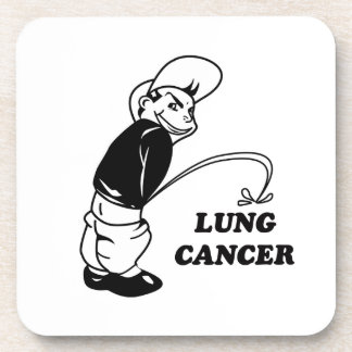 cancer design drink coaster