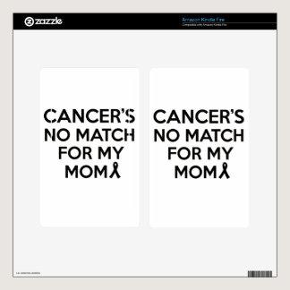 cancer design kindle fire skin