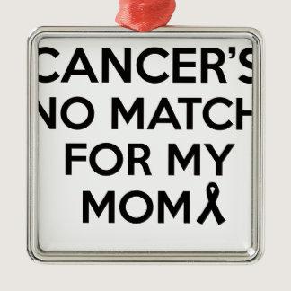 cancer design metal ornament
