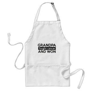 Cancer designs adult apron