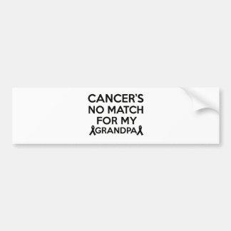Cancer designs bumper sticker